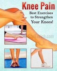 Knee Pain Strengthening Exercises