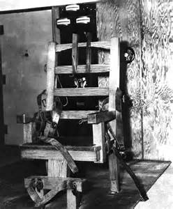 florida memory electric chair at raiford state prison