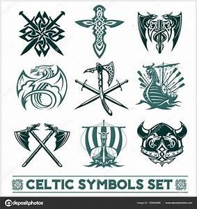 Symboles De Protection Celtique : ensemble de vecteur d ic nes symboles celtiques image vectorielle digital clipart 189864696 ~ Dode.kayakingforconservation.com Idées de Décoration