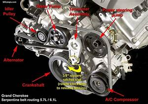 2007 Jeep Grand Cherokee Engine Diagram