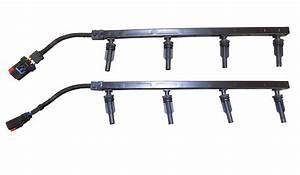 Glow Plug Wiring Harness W   Connectors 6 0l 2003 Ford