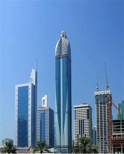 Tallest Hotels Dubai Marriott Height Jw Marquis