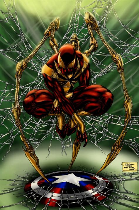 Does The Iron Spider Suit Appear In 'captain America