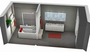 Plan 3d Salle De Bain Gratuit : salle de bains lille les projets ~ Melissatoandfro.com Idées de Décoration