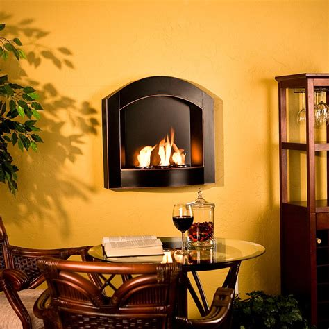 Kamin Wand by Small Wall Mounted Gas Fireplaces Fireplace In 2019