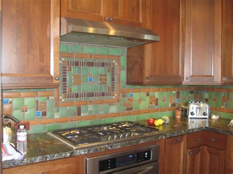 Motawi Collage Kitchen Backsplash By Tom Gerardy Of