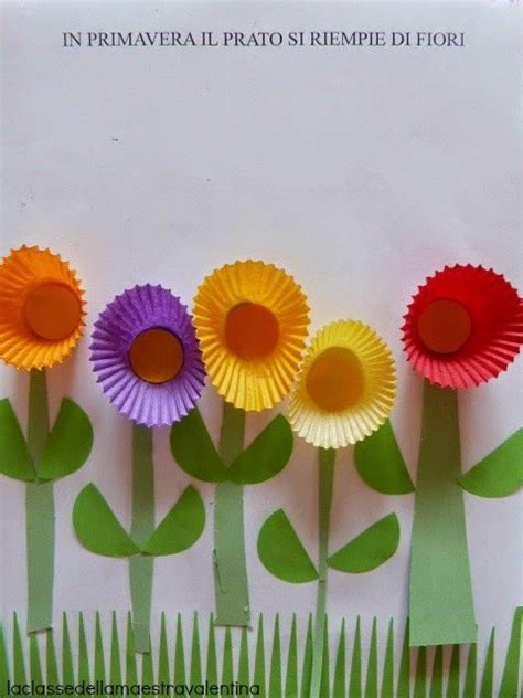 mazzolino di fiori di co un mazzolino di fiori per la mamma la classe della