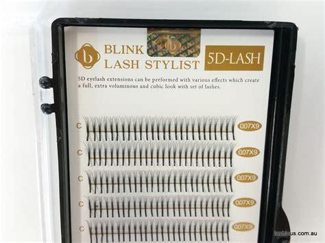 pre fanned volume lashes blink 5d pre made volume lashes lashious australia