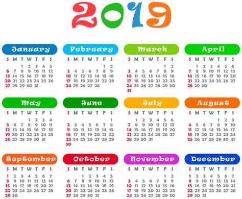 colorful calendar transparent png image gallery yopriceville