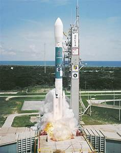 WMAP Delta II Rocket Launch Image