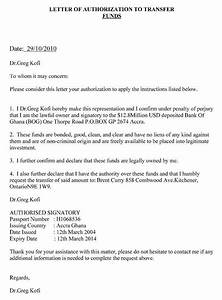 Authorization Letter To Claim