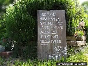 Sprüche Auf Holz : die besten 25 gartendeko holz ideen auf pinterest steingarten kunst rillenmetall und treibgut ~ Orissabook.com Haus und Dekorationen