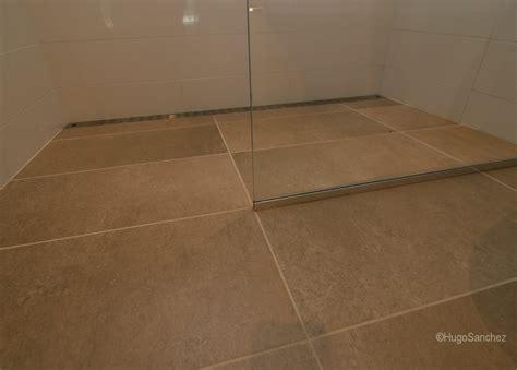 curbless shower c233ramiques hugo sanchez inc