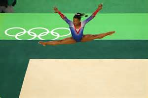 simone biles aly raisman take gold silver in