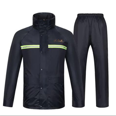 best bicycle rain jacket aliexpress com buy raincoat rain pants heavy rain gear