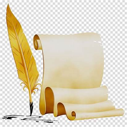 Clipart Scroll Poetry Transparent Background Paper Clip