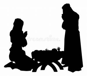 Nativity Silhouette Vector www imgkid com - The Image