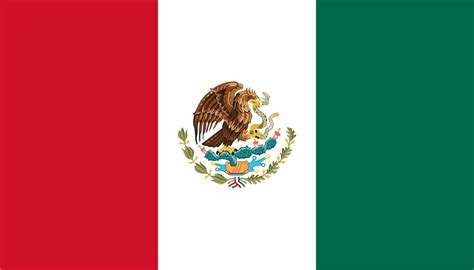 what color is the mexican flag file flag of mexico svg wikimedia commons