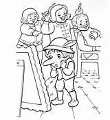Nose Coloring Pages Dwarf Warriors Nos Coloringtop sketch template