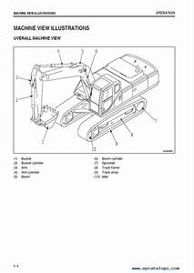 Komatsu Excavator Pc400  Lc Lc