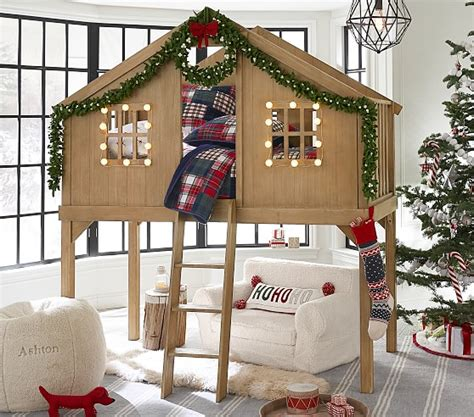 Tree House Bunk Beds For Sale - treehouse loft bed pottery barn
