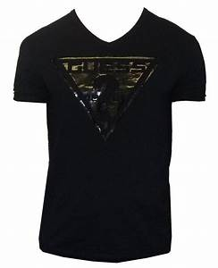 T-shirts - Guess Men's Slim Fit V-Neck Tees was sold for ...