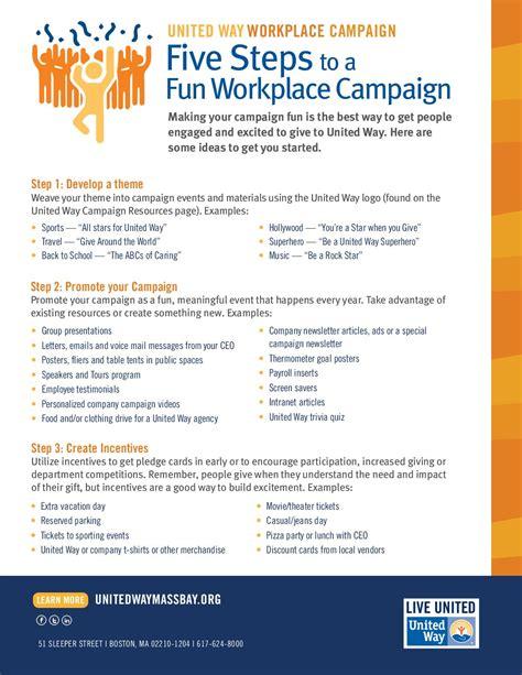 fun ideas   campaign united   massachusetts