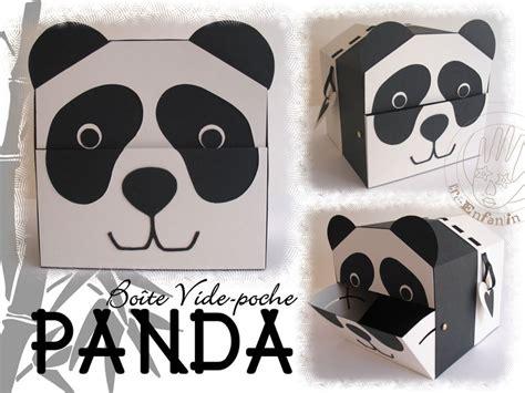 vide poche panda cr 233 ations pour enfants et