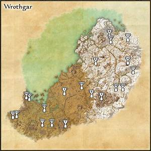 The Elder Scrolls Online: Wrothgar Relic Locations