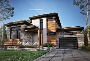Architecture Maison  Contemporaine  Cr U00e9ation Exclusive E