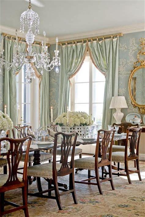formal dining shades curtains