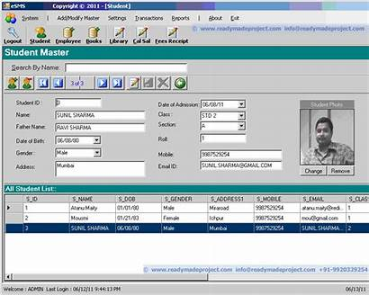 Management Vb System Project Sql Server Projects