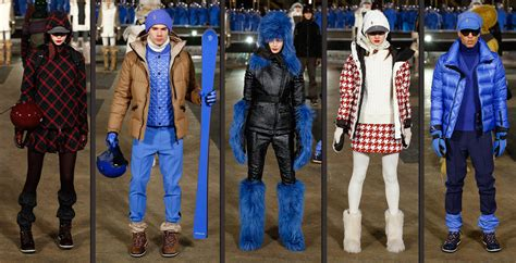 moncler grenoble fallwinter collection fashion trendsetter