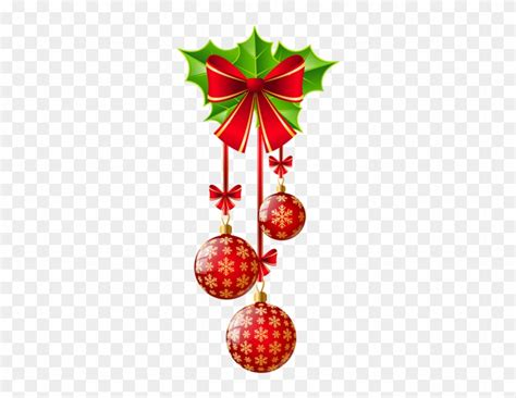 christmas decorations clipart png  transparent png