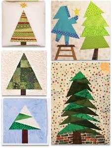 Christmas Tree Quilt Block Pattern Free