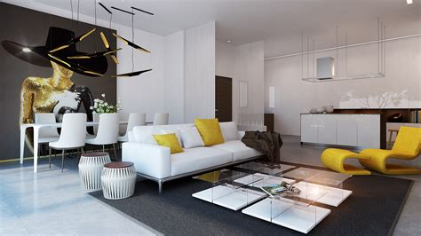 3 Modern Apartments With Chic Rooms For The by Tips For Chic Apartment Decorating On A Budget