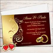 Personalized Happy Wedding Anniversary Invitation Cards And Invites Wedding Accommodation Cards X 5 5 Invitation Card Zazzle Custom Invitation Cards Red Paper Ribbon Lovely Wedding Invitation Wedding Response Card 3 5 X 5 Invitation Card Zazzle