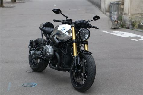 Modification Bmw R Nine T Racer by Bmw R Nine T Black Mirror Chrome Par Modification