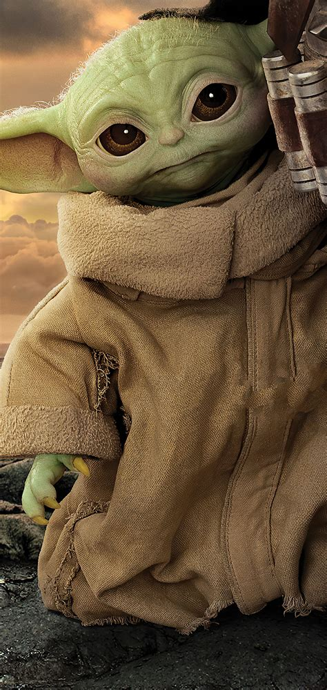 1080x2280 The Mandalorian Season 2 Baby Yoda One Plus 6 ...