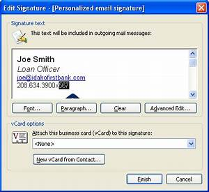 outlook 2010 signature template - download free how to create a signature template for