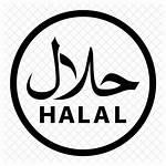 Halal Icon Singapore Chicken Font Sign Market