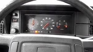 Volvo 240 Dl B200k Cold Start With Choke