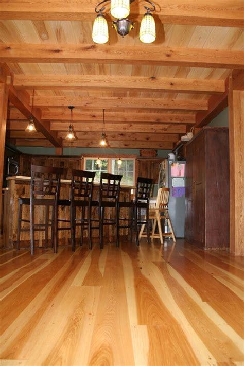 Wide Plank Hickory Flooring  Radiant Heat