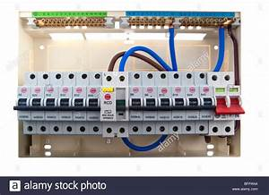 Consumer Unit Split Load Fuse Board Stock Photo  26921584