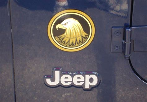 jeep golden eagle decal jeep wrangler rubicon golden eagle tj yk jk vinyl sticker