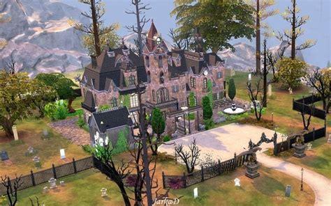 Vampire Mansion at JarkaD Sims 4 Blog » Sims 4 Updates