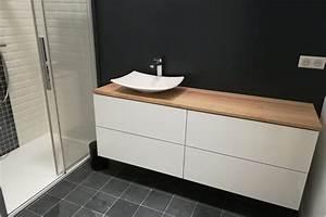 Ikea Meuble De Salle De Bain : meuble de salle de bain ikea hack art et cr ation de meubles ~ Melissatoandfro.com Idées de Décoration