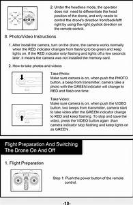 Switch Rc Drone Manual