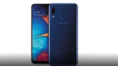 samsung galaxy a20e render surfaces likely to be unveiled on april 10 as toned
