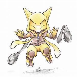 drawing art pokemon dratini crayola Dragonite trapinch ...  Abra